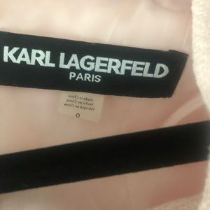 Karl Lagerfeld Dresses - Karl Lagerfeld Tweed Pink Dress